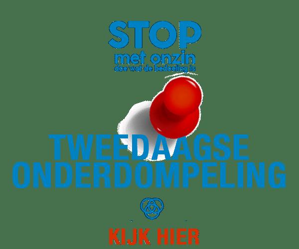 Adv tweedaagse onderdompeling - RUIMTE