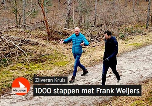 podcast Zilveren Kruis. 1000 stappen met Frank Weijers