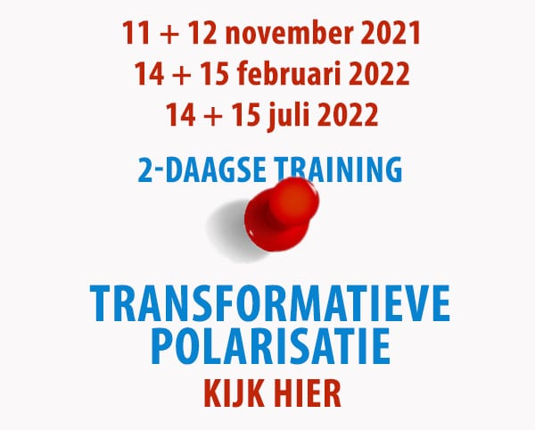 spelen met ruimte Transformatieve Polarisatie 2022 2 daagse training